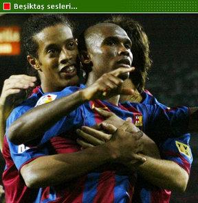 Beşiktaş, Eto'o, Ronaldinho